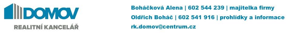 Realitní kancelář DOMOV